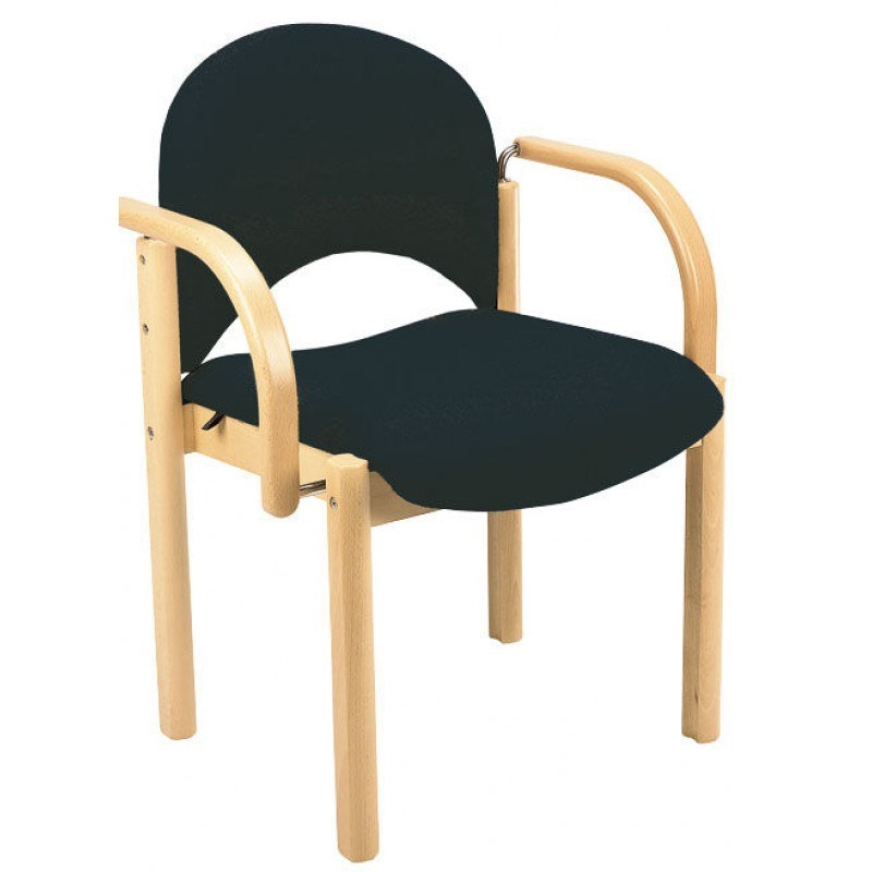 Wooden Office Chairs With Arms