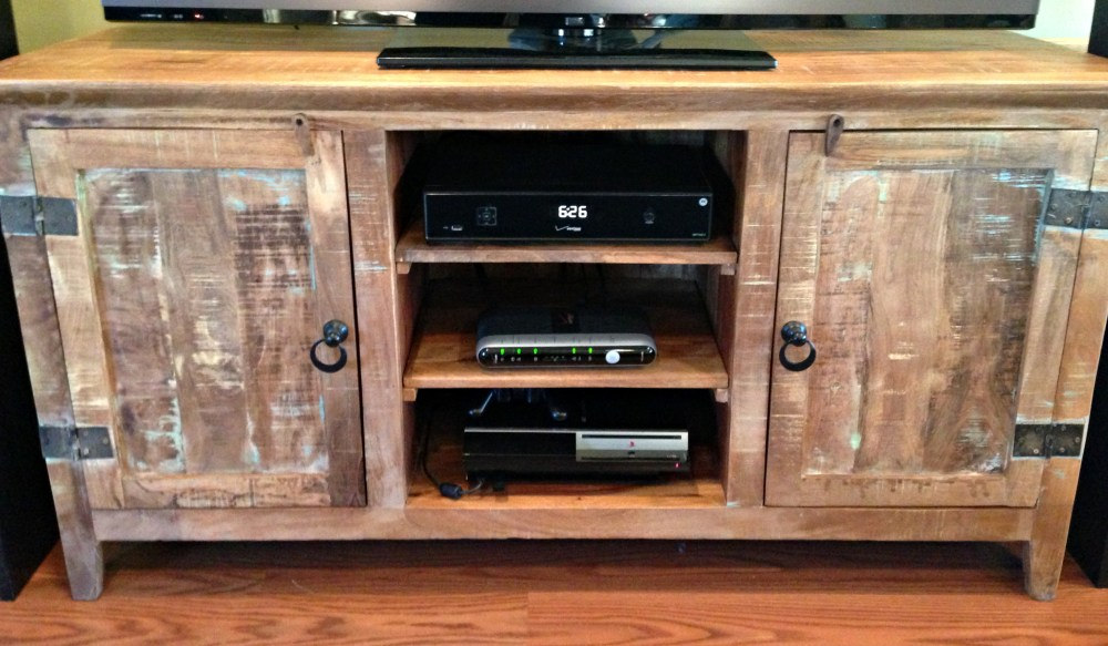 Wooden Tv Stand Plans