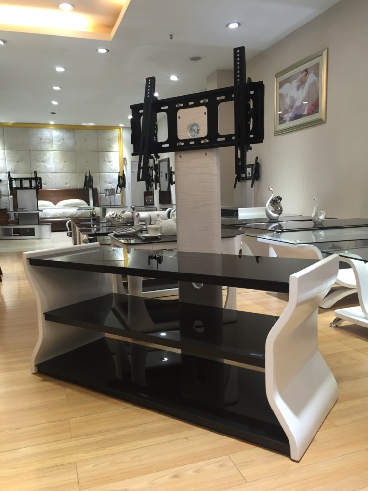 Wooden Tv Stand With Bracket