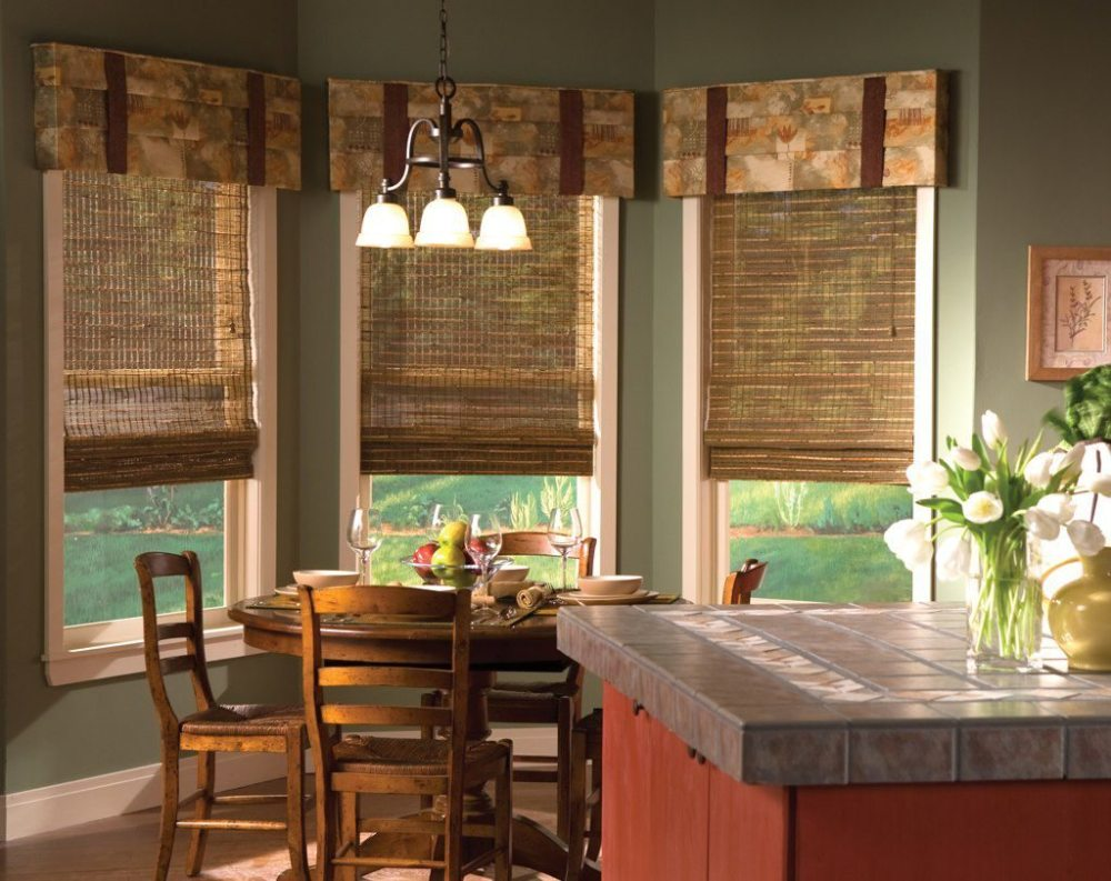 Wooden Valances Window Treatments