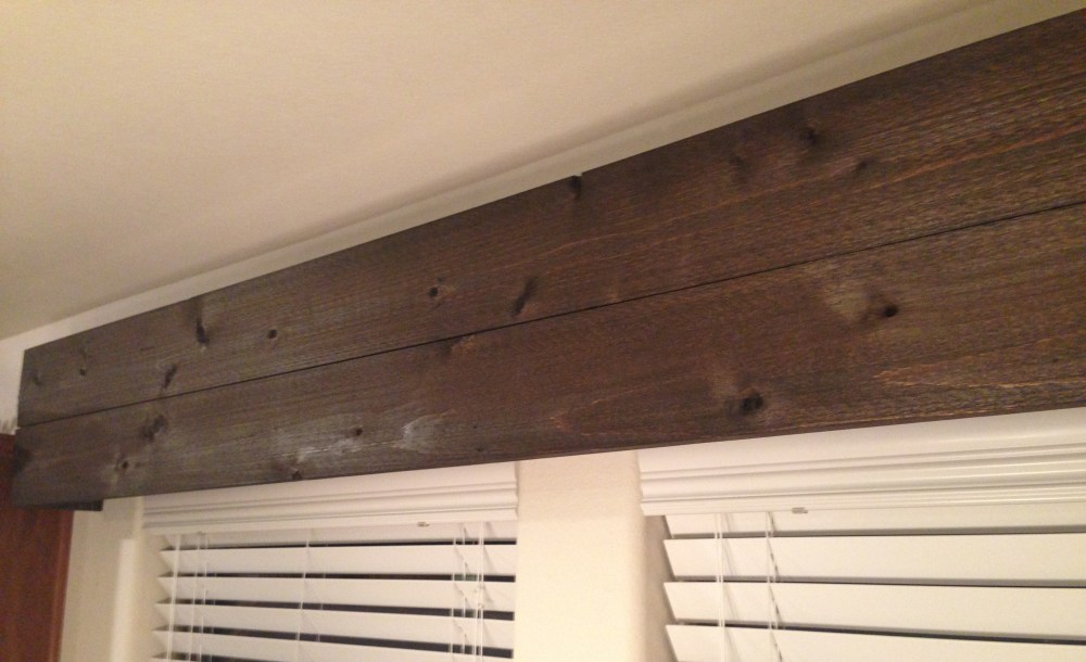 Wooden Window Valance Diy