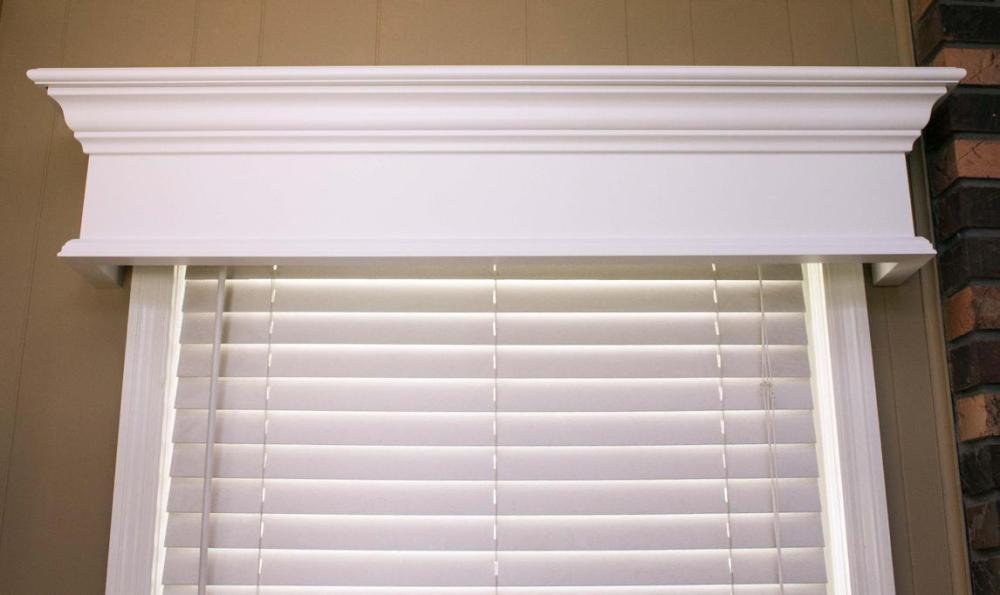 Wooden Window Valance