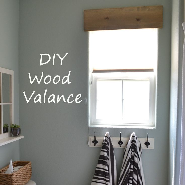 Wooden Window Valances Ideas