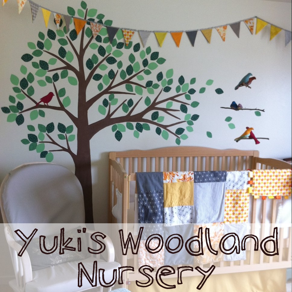 Woodland Wall Decals For Nursery