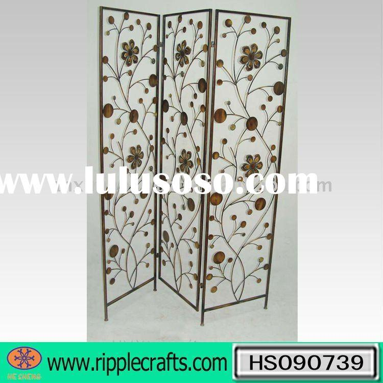 Wrought Iron Room Divider Candle Holder