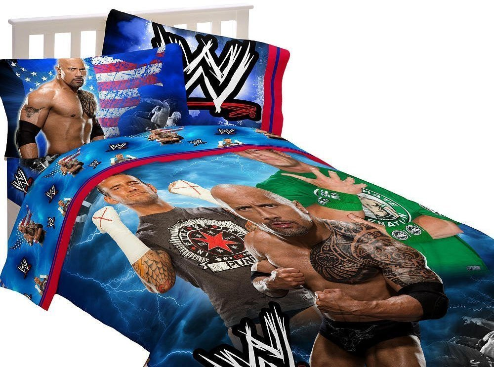 Wwe Comforter Set Twin