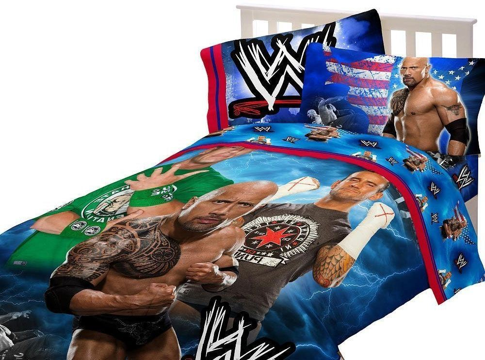 Wwe Twin Comforter Set