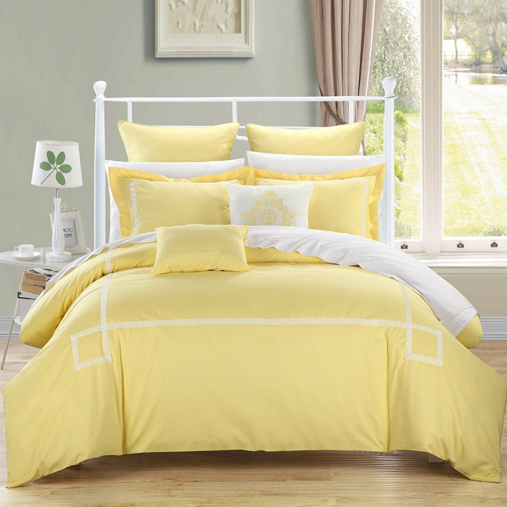 Yellow Comforter Set Queen
