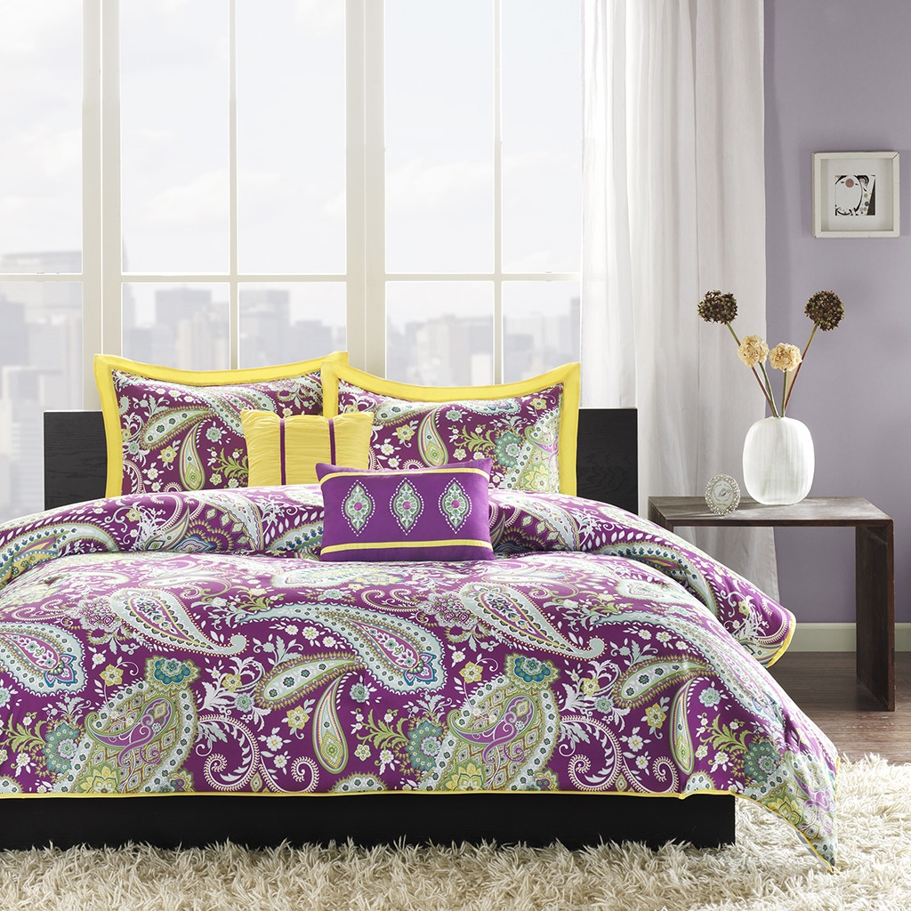 Yellow Queen Comforter Set