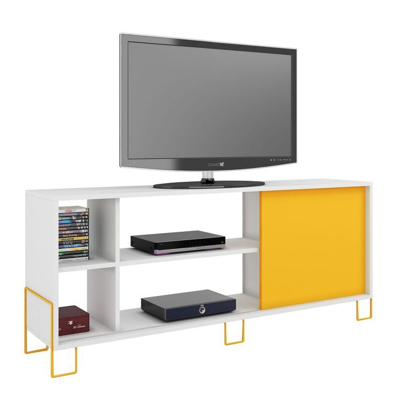 Yellow Tv Stand