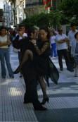 Danseurs de tango sur florida