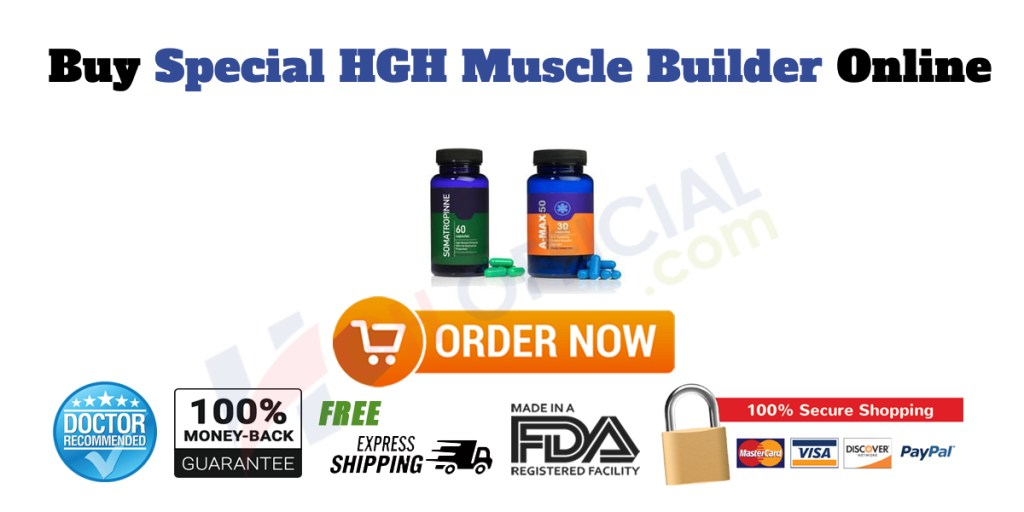Buy Special HGH Muscle Builder Online