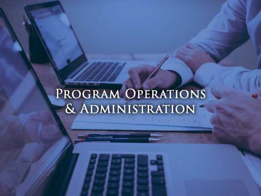 Program Operations & Administration