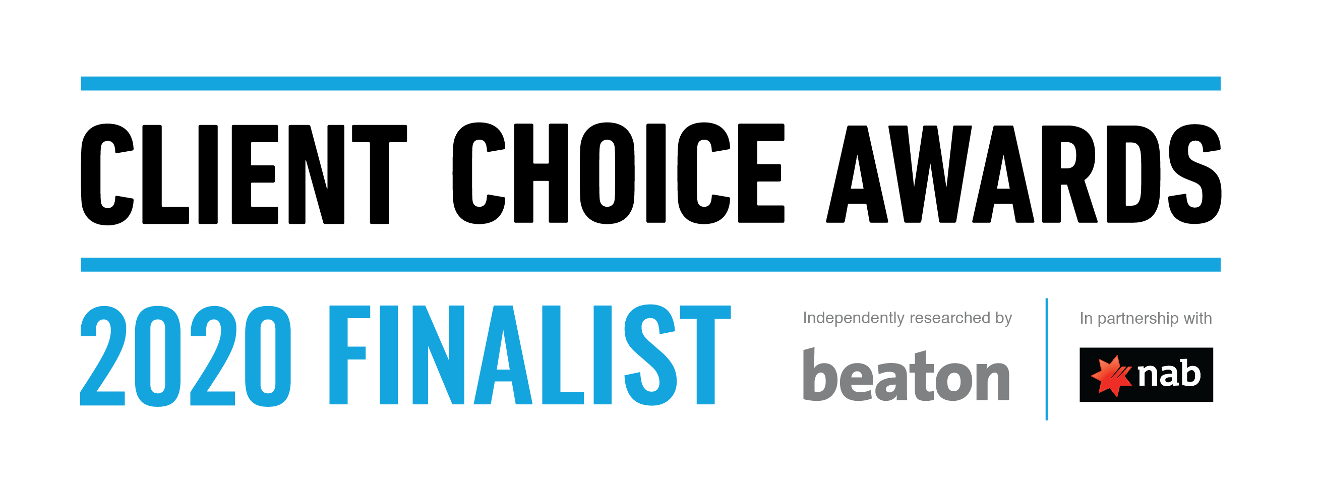 NAB Client Choice Awards 2020 Finalist