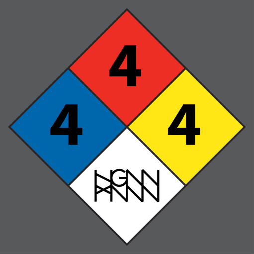 C291: HAZARDOUS MATERIAL detail gray