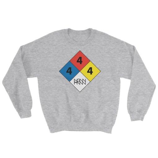C291: HAZARDOUS MATERIAL (SWEATSHIRT) sport grey