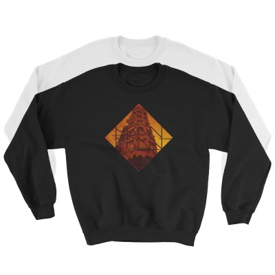 C263: GLITCH TOWER (SWEATSHIRT)