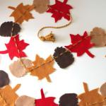 Get Crafty Make A Felt Garland For Fall Hgtv