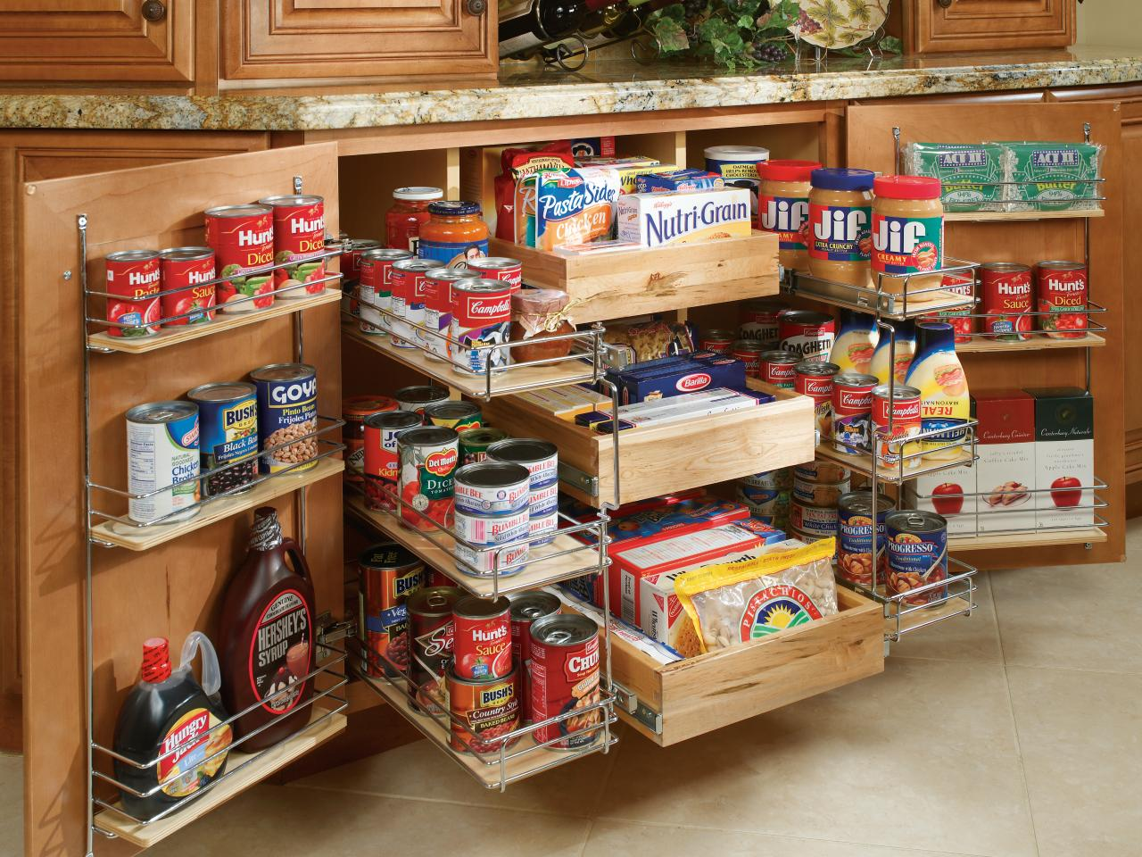 Pullout Pantry Shelving Solutions