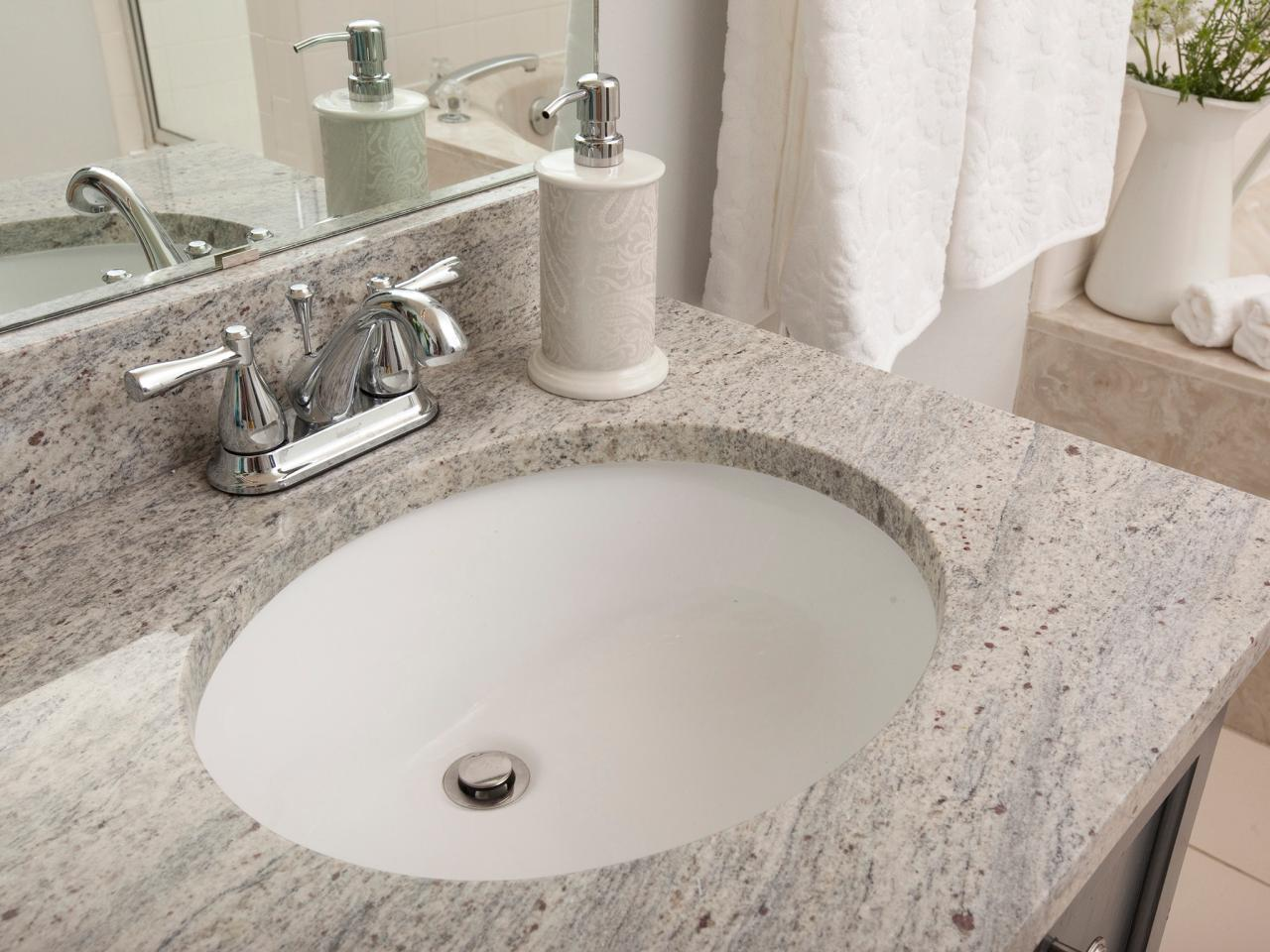 Bathroom Granite Countertop Costs   HGTV Bathroom Granite Countertop Costs