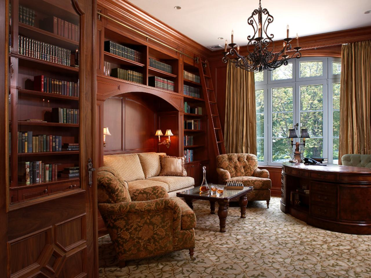 12 Dreamy Home Libraries Decorating And Design Ideas For