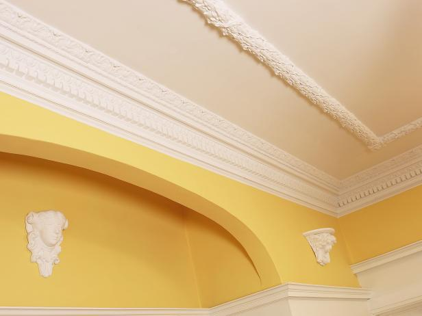 How To Repair Crown Molding HGTV