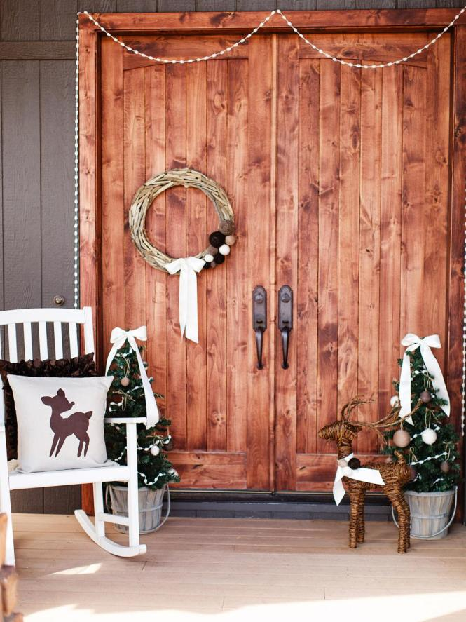 Cool Diy Decorating Ideas For Christmas Front Porch 28