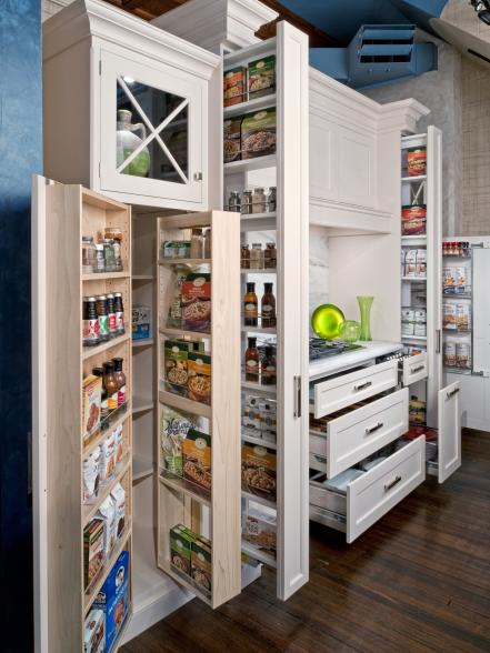 Kitchen storage racks