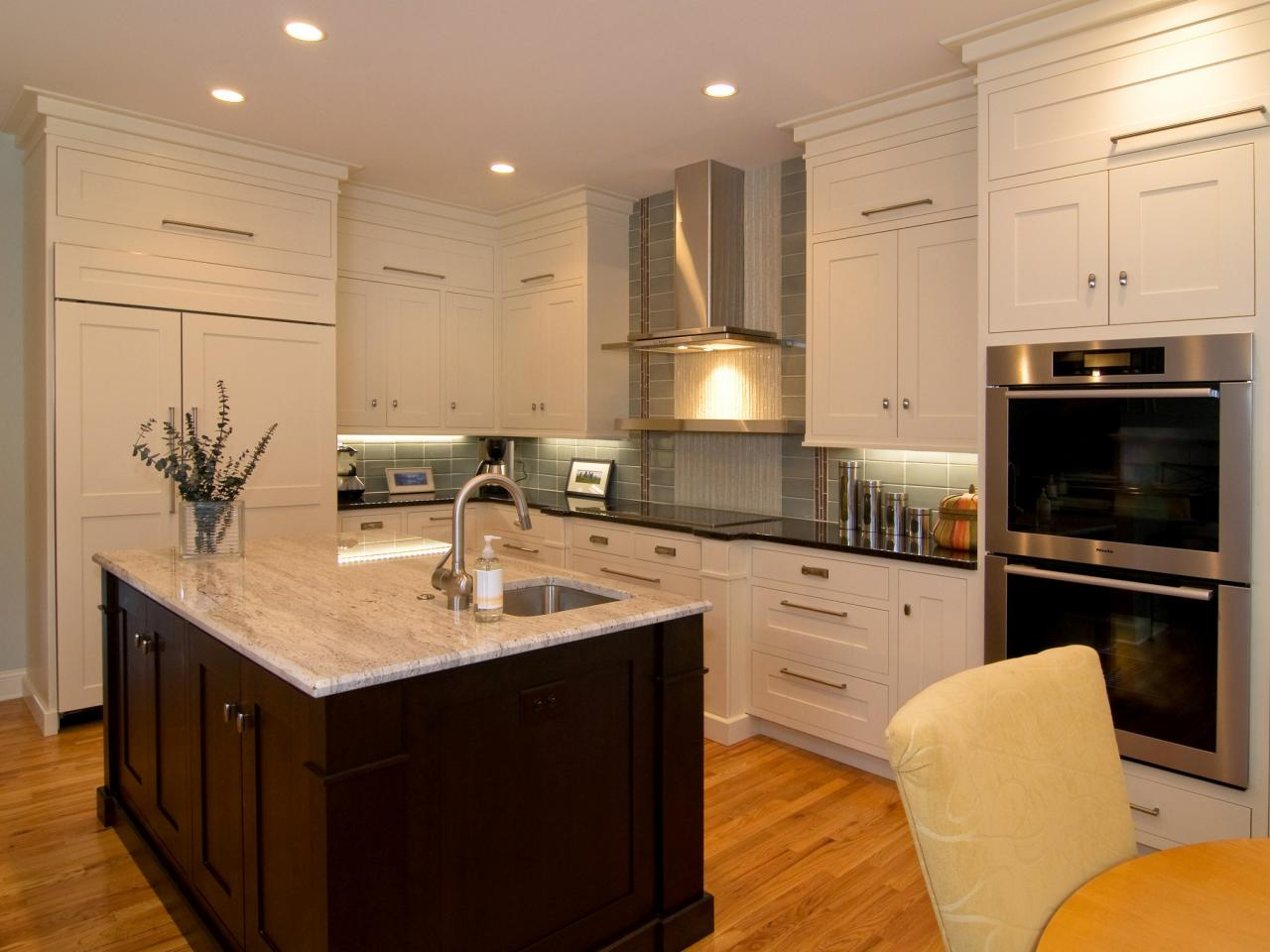 shaker kitchen cabinets: pictures, ideas & tips from hgtv | hgtv