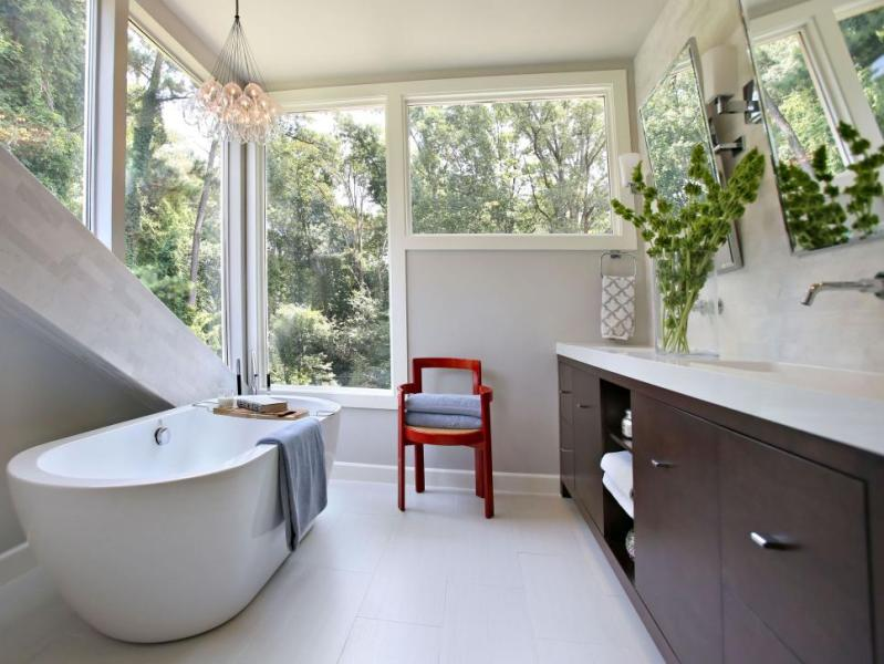 Small Bathroom Ideas on a Budget   HGTV Shop This Look