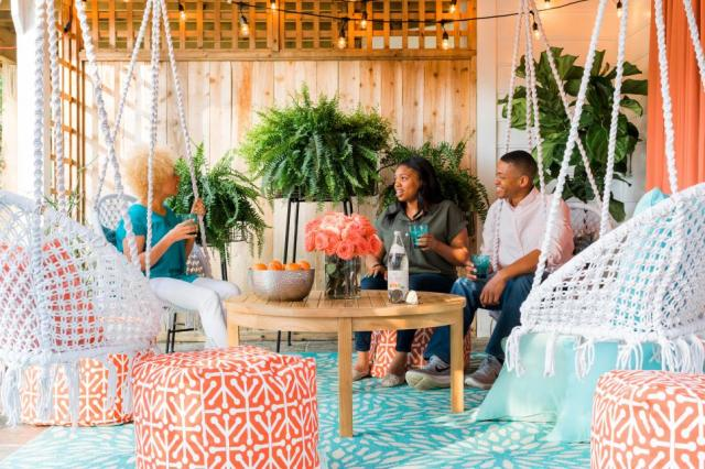 40 Ways To Decorate Your Apartment Deck Or Patio Hgtv