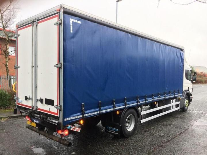 Scania 18 Tonne Curtain Side Truck For Hgv Traders Powered By The Trade