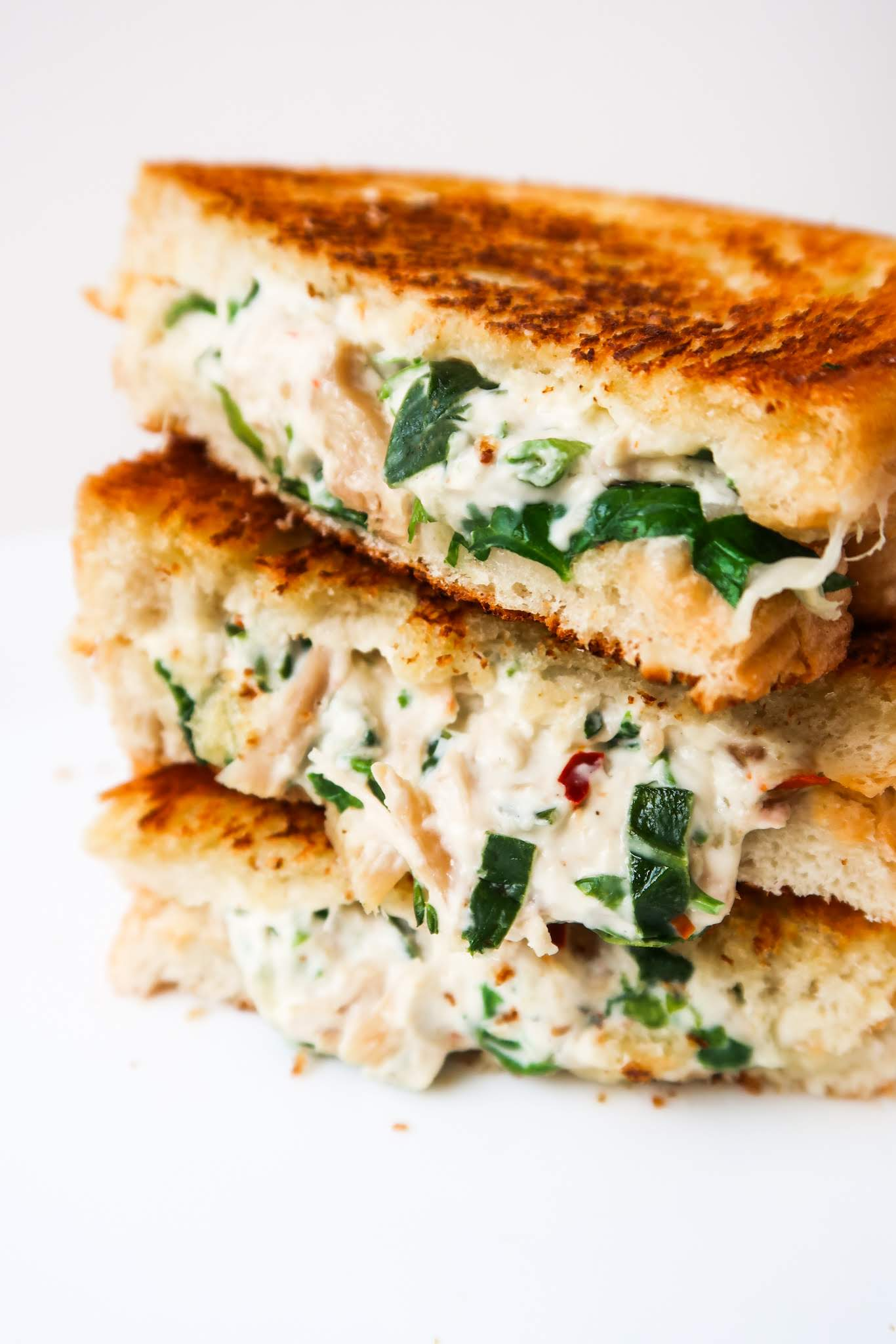 Chicken Salad Sandwich Melt Recipe Her Highness Hungry Me