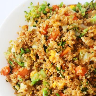 15-Minute Quinoa Fried Rice Recipe