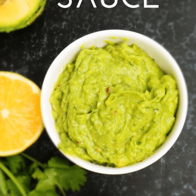 Spicy Avocado Sauce | Vegan & Paleo