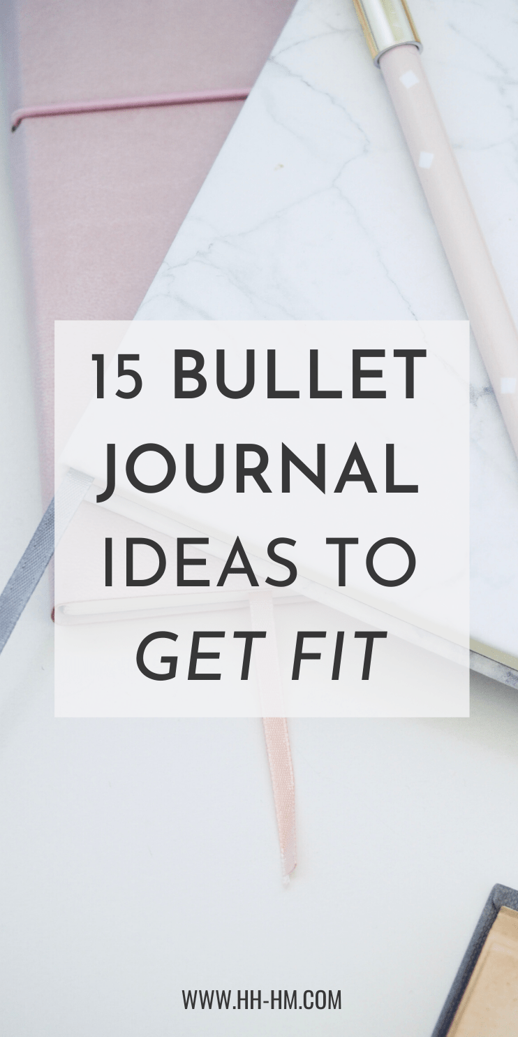 15 Bullet journal ideas to improve your health and fitness and to get fit! Get inspired with these habit tracker, yoga tracker, weight loss tracker ideas and more to work on your goals and achieve them! thanks to developinng good daily habits!