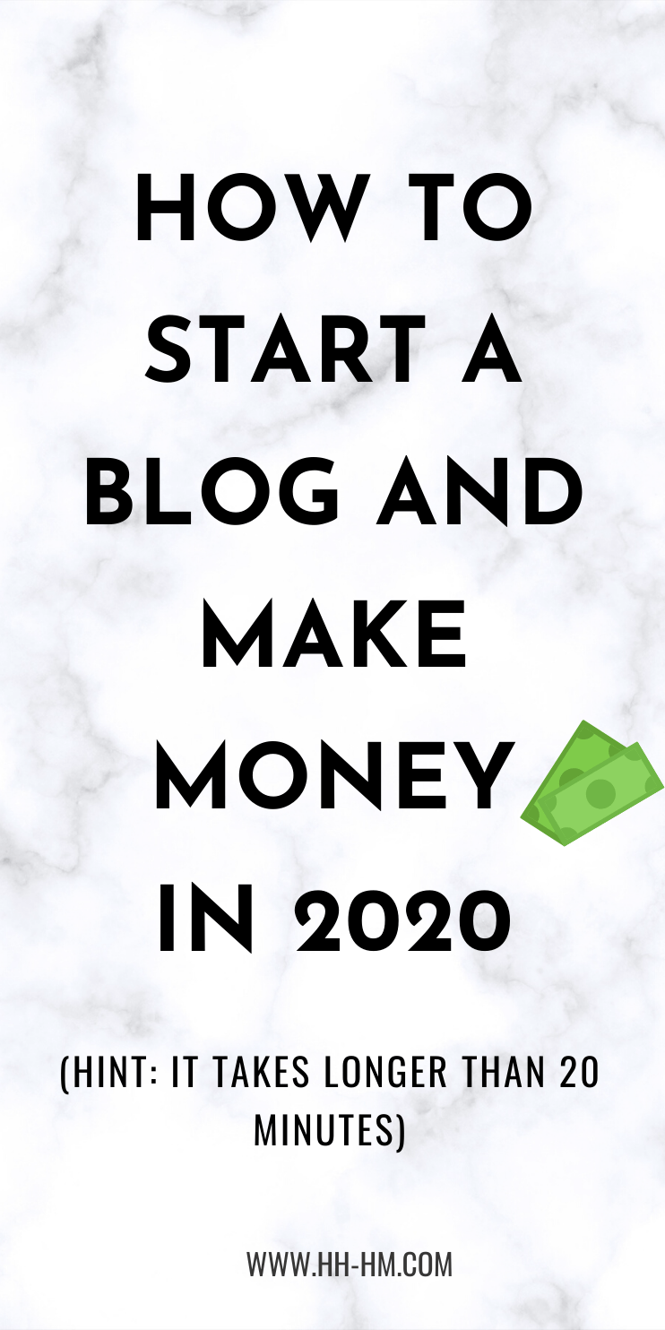 Blogging for beginners in 2020! These blogging tips and blogging ideas will make sure you start your blog strong and will help you make money blogging this year! There are 6 things you need to do to actually launch a profitable blog - it takes consistency and definitely longer than 20 minutes, but it's still possible to grow your blog traffic and earn an income by blogging!