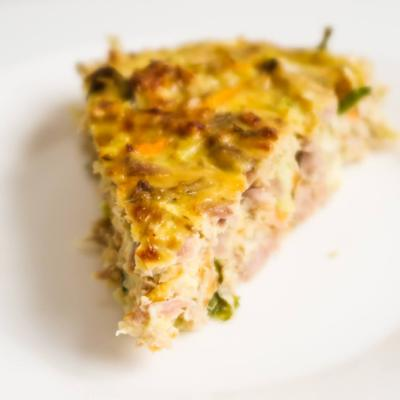 Crustless Tuna Breakfast Quiche (Meal Prep & Low Carb Option)