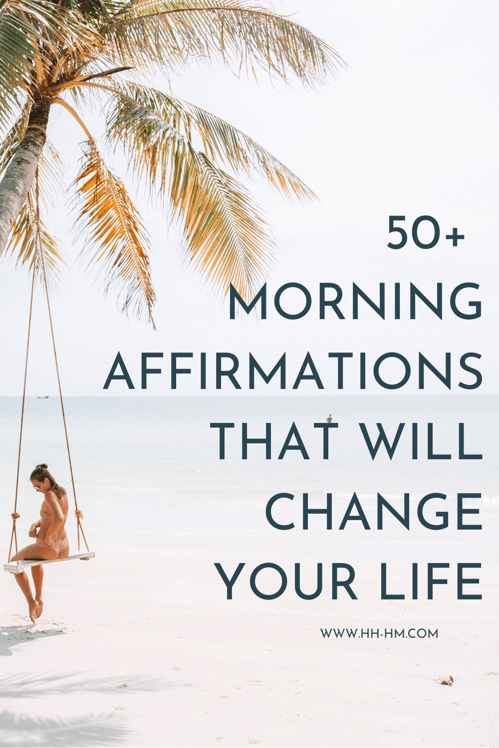 50 positive morning affirmations to say after you wake up to change your life! Get your morning motivation with this list of positive affirmations including affirmations for happiness and abundance, affirmations for self confidence and self love as well as success affirmations to help you succeed in life and in your career!