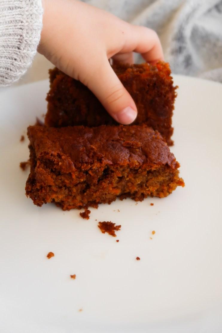 flourless healthy carrot cake meal prep