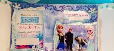 frozen fever diy frozen disney movie themed party invitations