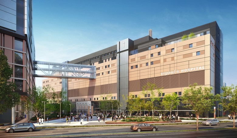 Rendering of New St. Paul's Hospital BC