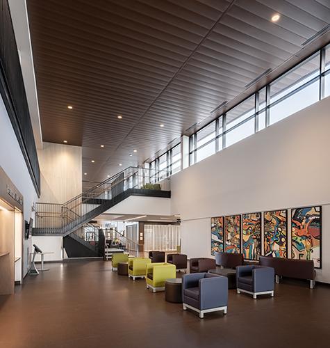 Interior photo of the Rizzardo Health & Wellness Centre