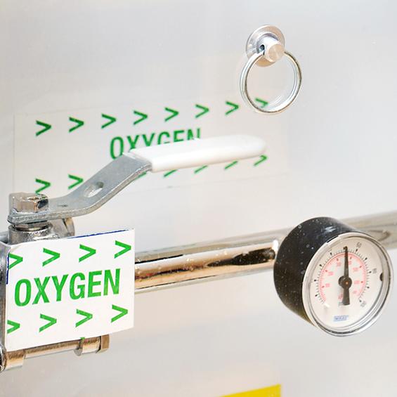 Medical gas panel