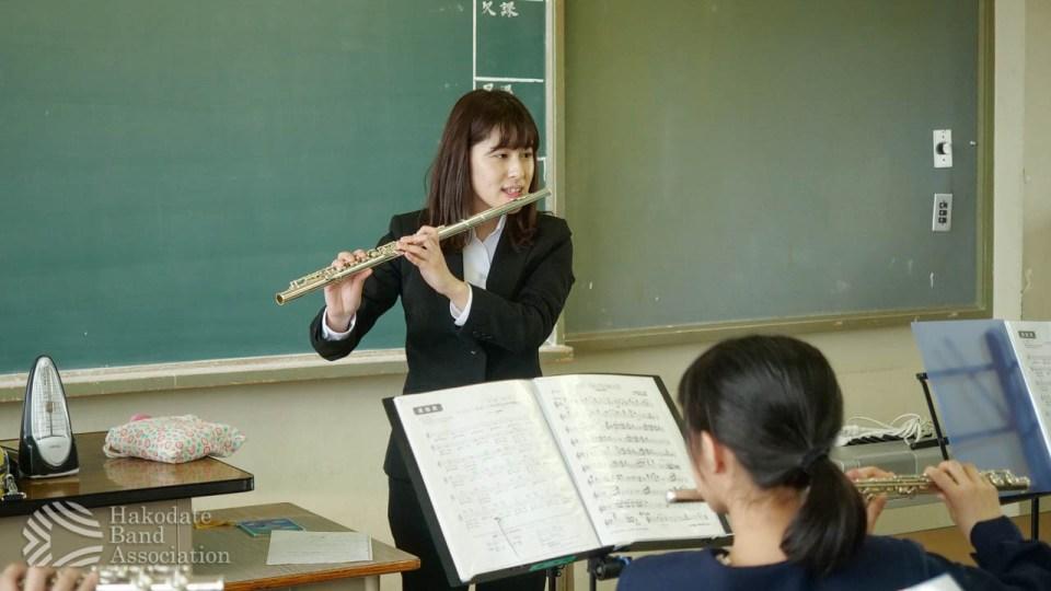 Flute担当・成田 早希(2年生・1回目)