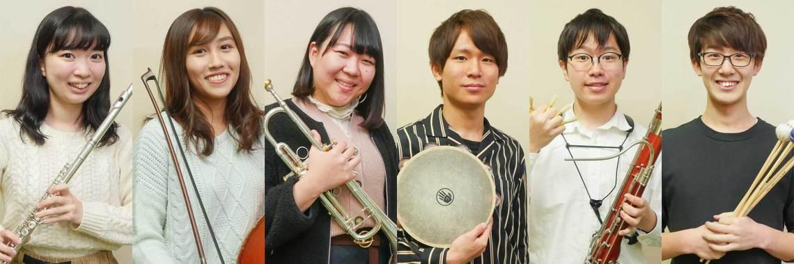 三役・学生指揮者の挨拶(2019年度)