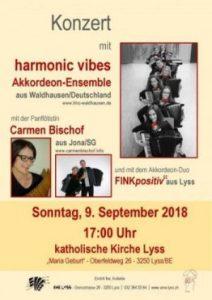 """Konzert in Lyss / Schweiz @ Kath. Kirche """"Maria Geburt"""" Lyss"""