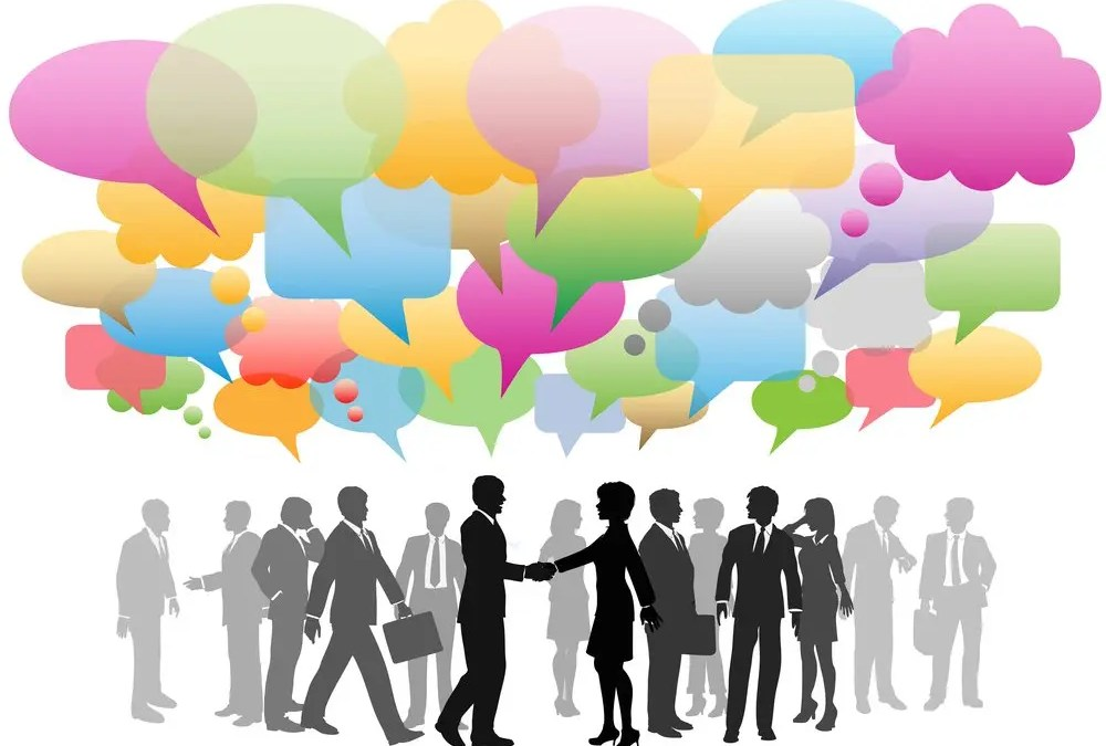 Social Media in Business: Speeches vs Conversations