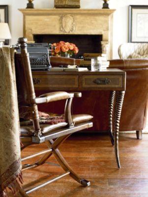 Ernest Hemingway Safari Desk Chair Thomasville Furniture