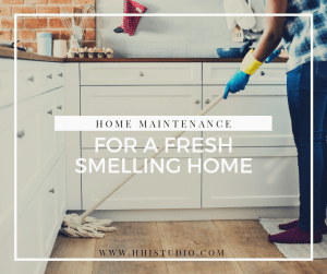 A clean home combats dog and cat smell.